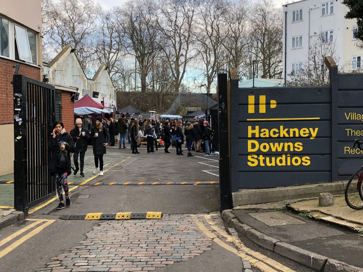 Hackney Downs Vegan Market (and the hunt for cheese)